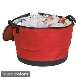 48-Can Collapsible Barrel Cooler with Stand