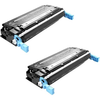 Compatible HP Q5950A Black Toner Cartridge HP 4700 4700dn 4700dtn 4700n 4700ph+ (Pack of 2)