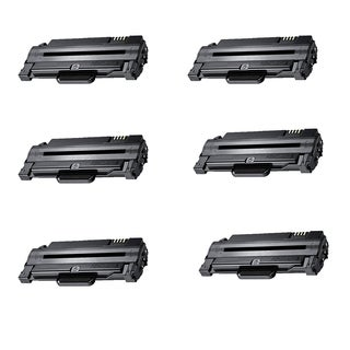 Xerox 3140 (108R00909 / 108R909) Black Compatible Laser Toner Cartridge (Pack of 6)