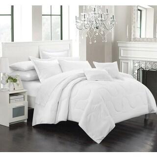 Chic Home Direllei White Down Alternative 7-piece Comforter Set