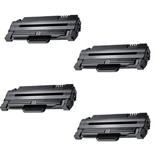 Xerox 3140 (108R00909 / 108R909) Black Compatible Laser Toner Cartridge (Pack of 4)