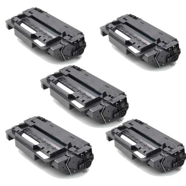 HP Q6511X (11X) Black Compatible Laser Toner Cartridge 2410 2420 2420D 2420N (Pack of 5)