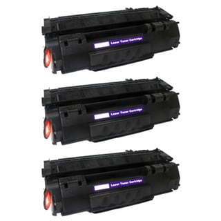 Compatible HP Q5949A (49A) Black Compatible Laser Toner Cartridge 1320 1320N (Pack of 3)