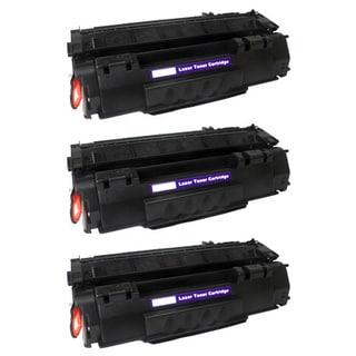 Compatible HP Q5949A (49A) Black Compatible Laser Toner Cartridge 1320 1320N (Pack of 3)