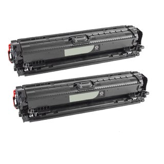 Compatible HP CE740A Black Toner Cartridge CP5225/CE5225NCP5225DN (Pack of 2)