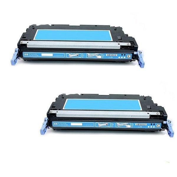 HP Q7581A Toner Cyan Compatible Toner Cartridge 3800 3800N 3800DN 3800DTN CP3505 CP3505dn CP3505n CP3505x (Pack of 2)