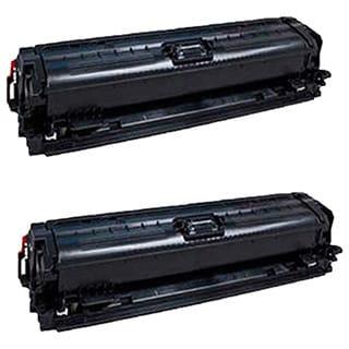 Compatible HP CE340A Black Toner Cartridge MFP M775dn MFP M775f MFP M775z MFP M775z Plus (Pack of 2)