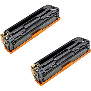 Compatible HP CE322A Yellow Toner Cartridge CM1415fn/CM1415fnw (Pack of 2)