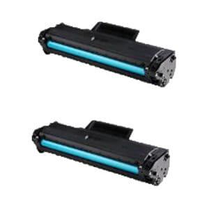 Compatible Samsung MLT-D104S/ MLT-D104S/ ML1666/ ML1665 Toner Cartridges (Pack of 2)