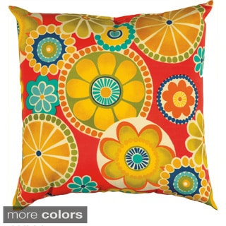 Rizzy Home Saint Kitts 22-inch Indoor/Outdoor Accent Pillow