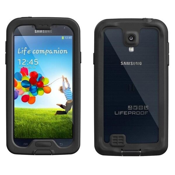 Samsung Galaxy S4 I9500 16GB Unlocked GSM Phone Black + LifeProof Nuud S4 Case