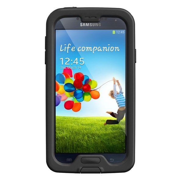 Samsung Galaxy S4 I9500 16GB Unlocked GSM Phone Black + Lifeproof Fre S4 Case