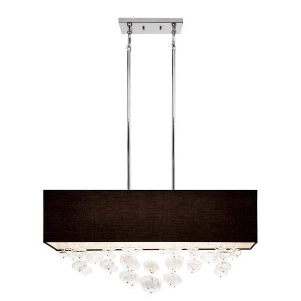 Kichler Lighting Piat Collection Six Light Chrome Rectangle
