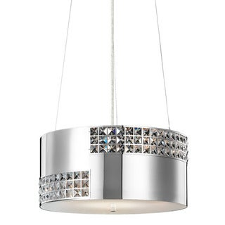 Kichler Lighting Daudet Collection 4-light Chrome Pendant