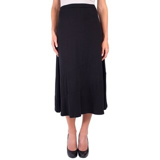 DownEast Basics Women's Banner Edge Skirt