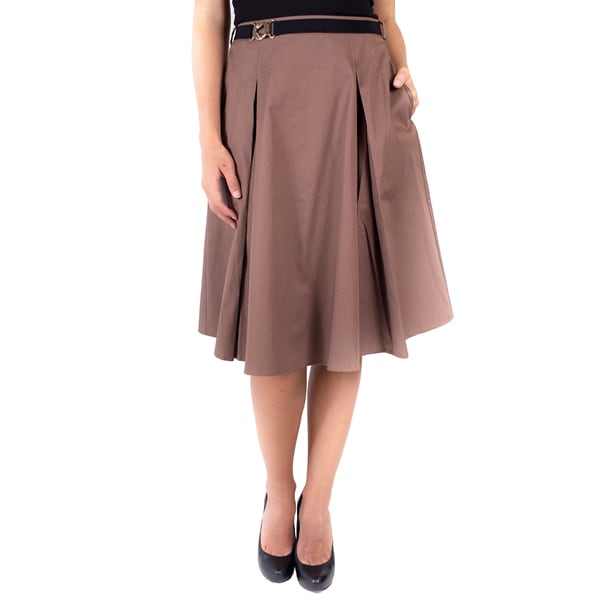 DownEast Basics Women's Belt It Out Skirt