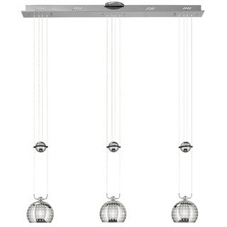Kichler Lighting Centric Collection 3-light Chrome Island Light/Pendant Cluster