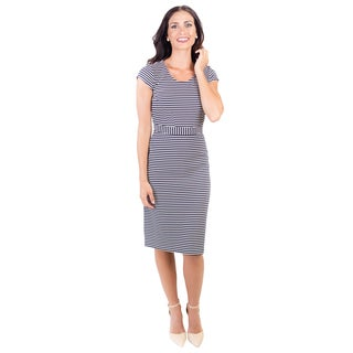 DownEast Basics Women's Corner Office Dress