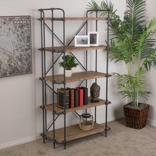 Christopher Knight Home Yorktown 5-Shelf Industrial Bookcase