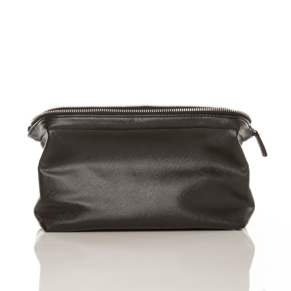 Alpha Vegan Leather Dopp Kit/Toiletry Bag