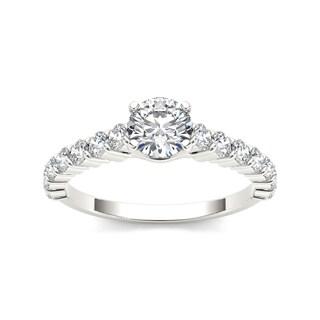 De Couer 14k White Gold 1 3/4ct TDW Diamond Classic Engagement Ring (H-I, I2)