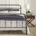 INSPIRE Q Morocco Dark Bronze Casted Knot King-sized Metal Bed