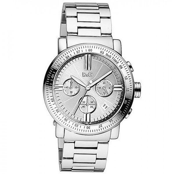 Dolce & Gabbana Men's DW0676 Chronograph Stainless Steel Watch