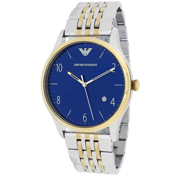 Emporio Armani Men's AR1868 'Classic' Two-Tone Stainless Steel Watch