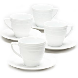 BergHOFF Elan Teacup and Saucer (Service for 4)