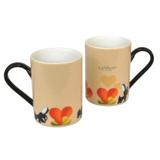 BergHOFF Lover by Lover Beige Coffee Mug (Set of 2)