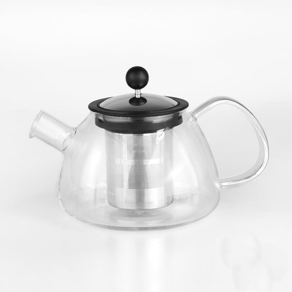 BergHOFF Glass Teapot with Stainless Steel Infuser
