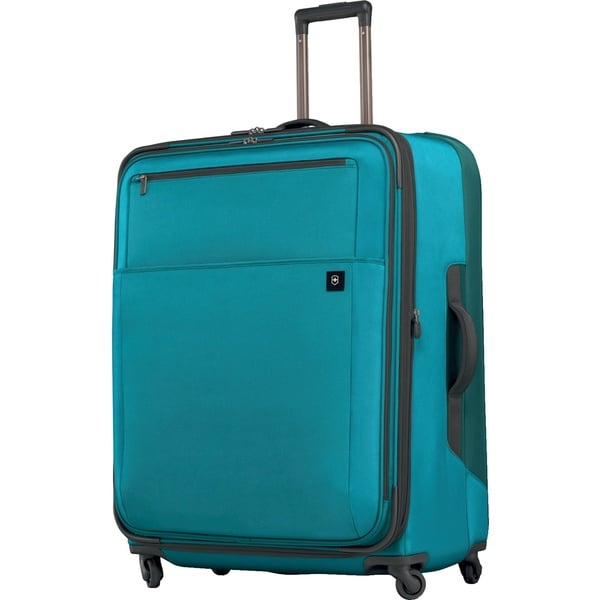 Victorinox Avolve 30-inch Aqua Blue Expandable Spinner Upright Suitcase