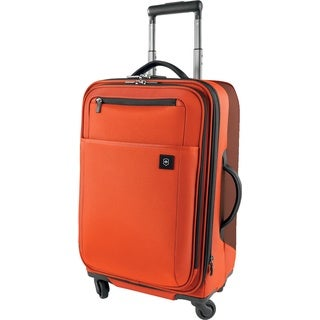 Victorinox Avolve 22-inch Siren Red Carry On Expandable Spinner Upright Suitcase