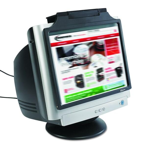 Innovera Black Privacy Antiglare Antistatic Antiradiation Monitor Filter for 17 inch CRT