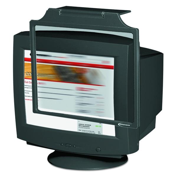 Innovera Black Privacy Antiglare Antistatic Antiradiation Monitor Filter for 19-21 inch CRT