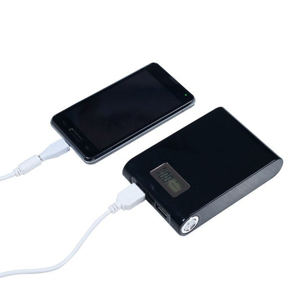 10000 mAh Power Bank with Dual USB Output 5 Adapters and Flashlight by Northwest