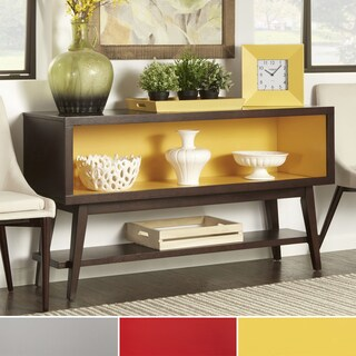 INSPIRE Q Sasha Angled Leg Open Shelf Console Table