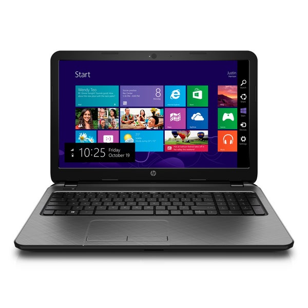 HP 15-f003dx AMD Quad-Core 15.6 HD Display, 750GB HD Win 8.1 Notebook (Refurbished)