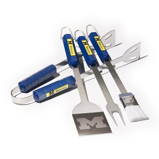Michigan Wolverines 4-piece BBQ Set