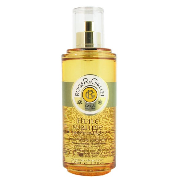 Roger & Gallet Bois d'Orange Huile Sublime Women's 3.33-ounce Perfumed Dry Oil Spray