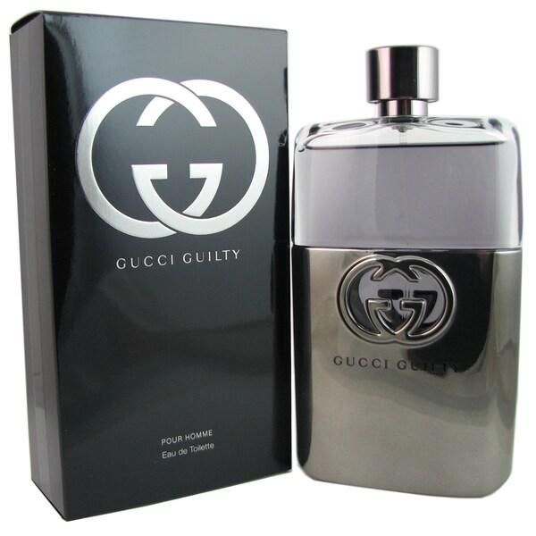 Gucci Guilty Pour Homme Men's 5-ounce Eau de Toilette Spray