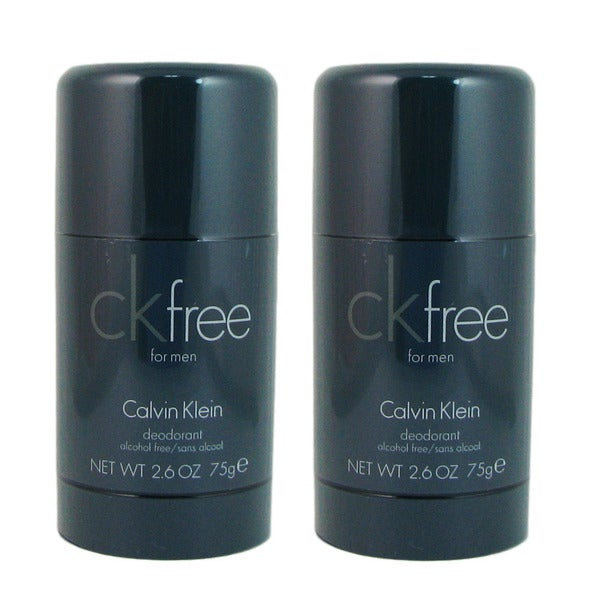 Calvin Klein CK Free Men's 2.6-ounce Deodorant Stick (Pack of 2)
