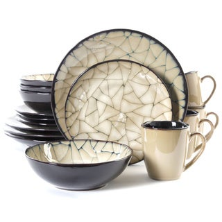 Gibson Elite Zambezi 16-piece Dinnerware Set