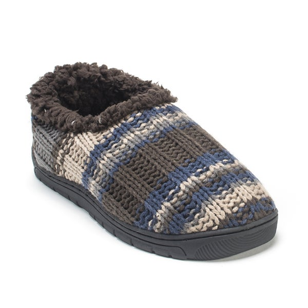 Muk Luks Men's Brown John Slippers