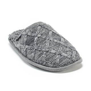 Muk Luks Men's Grey Gavin Slippers
