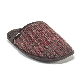 Muk Luks Men's Red Gavin Slippers