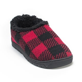 Muk Luks Men's Red John Slippers