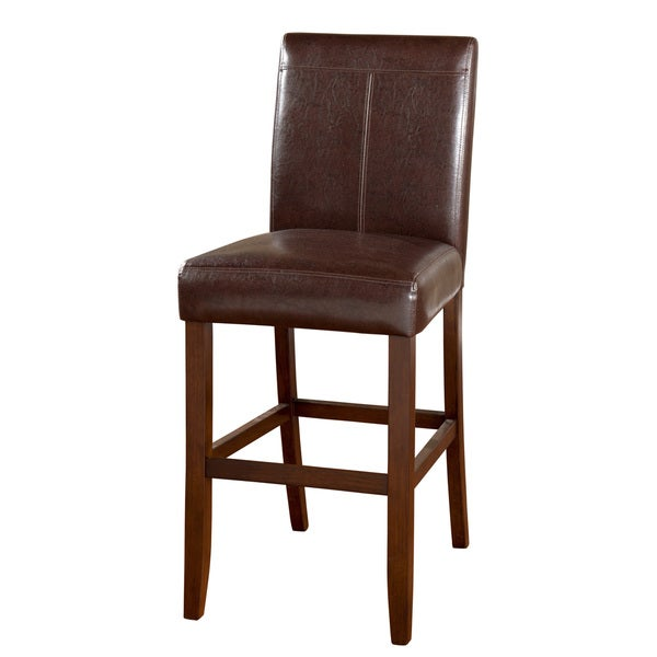 Williams Bar Height Stool-Brown (Set of 2)