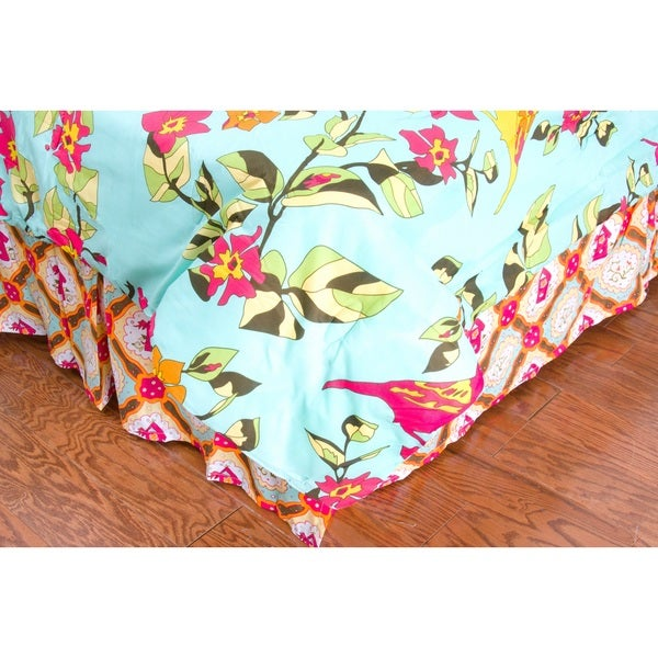 Rizzy Home Birds in Paradise Bed Skirt