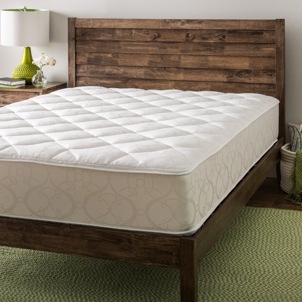 Double Queen Bed : ... Luxury 10-inch Queen-size Double-sided Airflow Quilted Foam Mattress